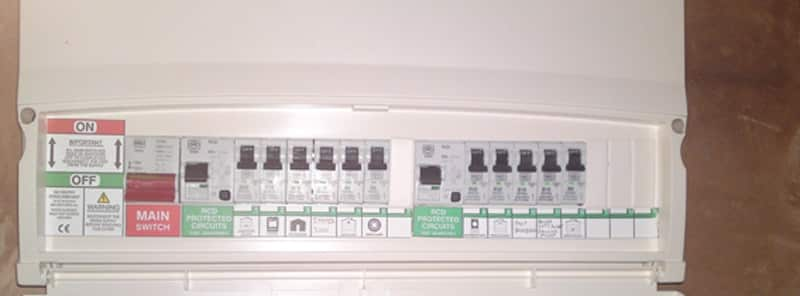 Fuse box 2 how much does an electrical safety certificate or wiring report cost? cost of replacing electric fuse box at webbmarketing.co