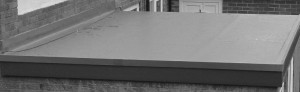 grey flat roof photo
