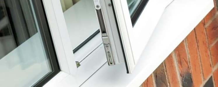 Upvc plastic double glazing