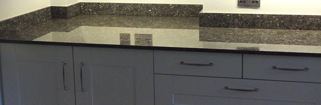 worktop installed to kitchen