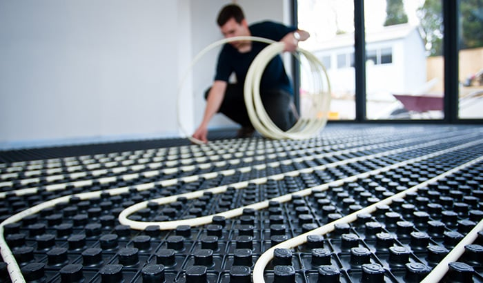 Underfloor heating price