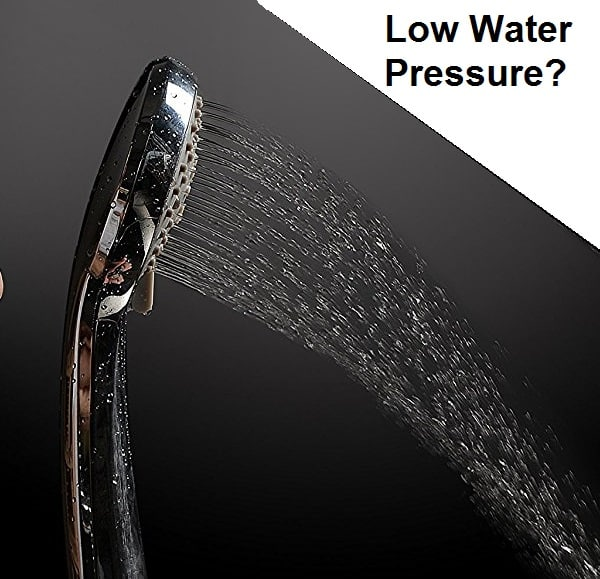 Low pressure shower head