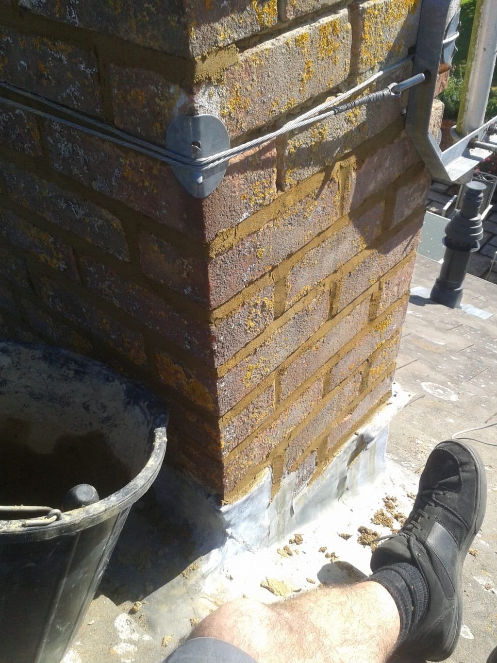 Repointing A Chimney : Free photo chimney repointing