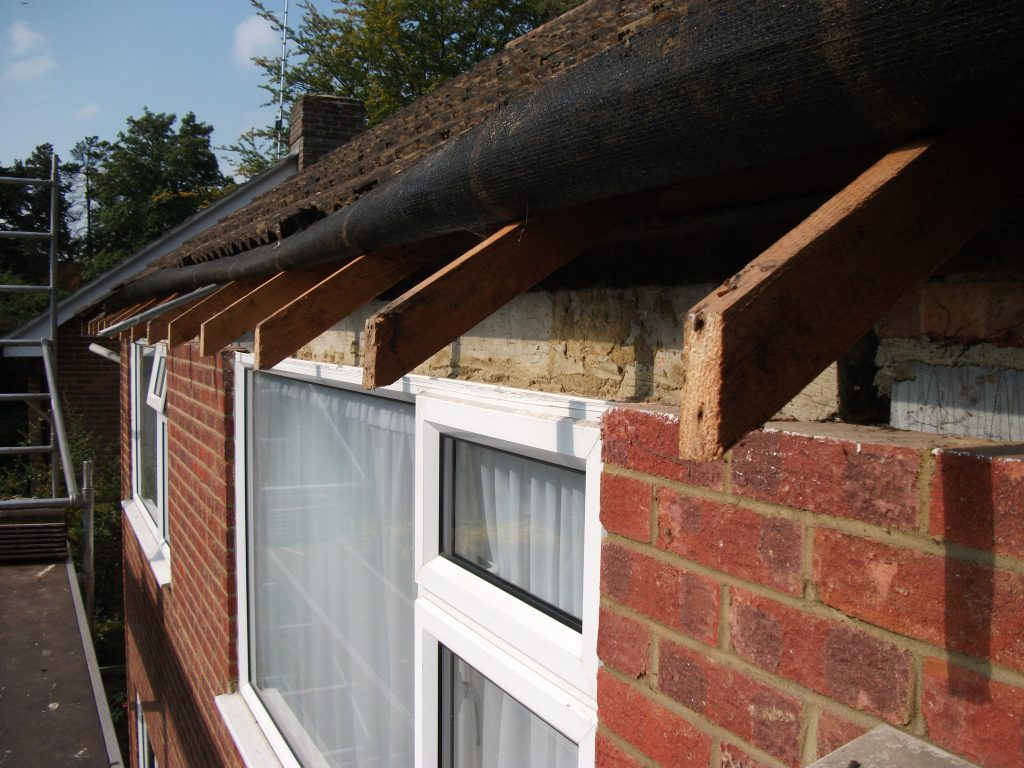 Exposed roofline rafters