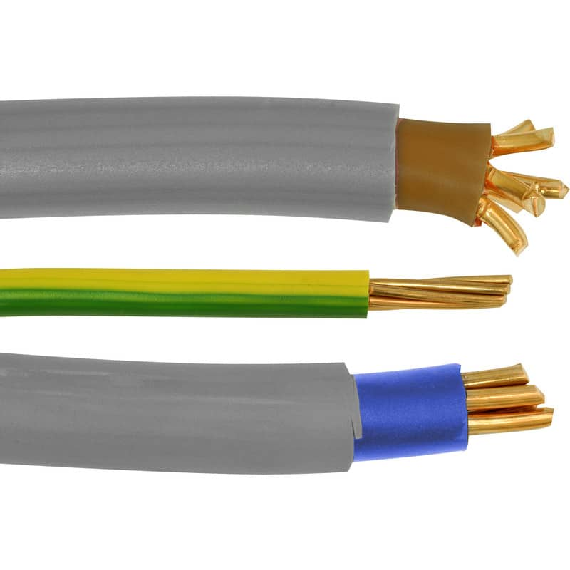 Cable wiring colours in the UK