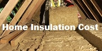 Loft and wall insulation