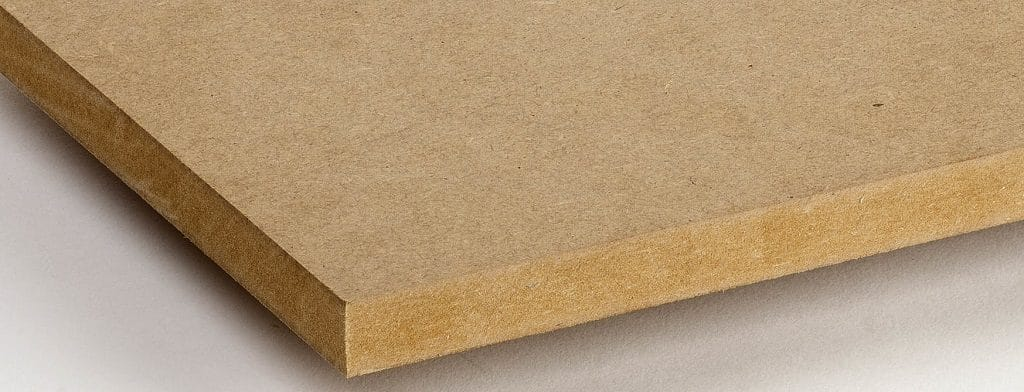 Edge of MDF board