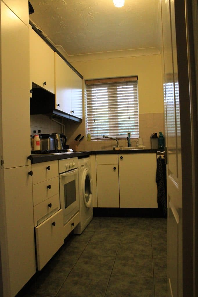 Galley kitchen refurbishment