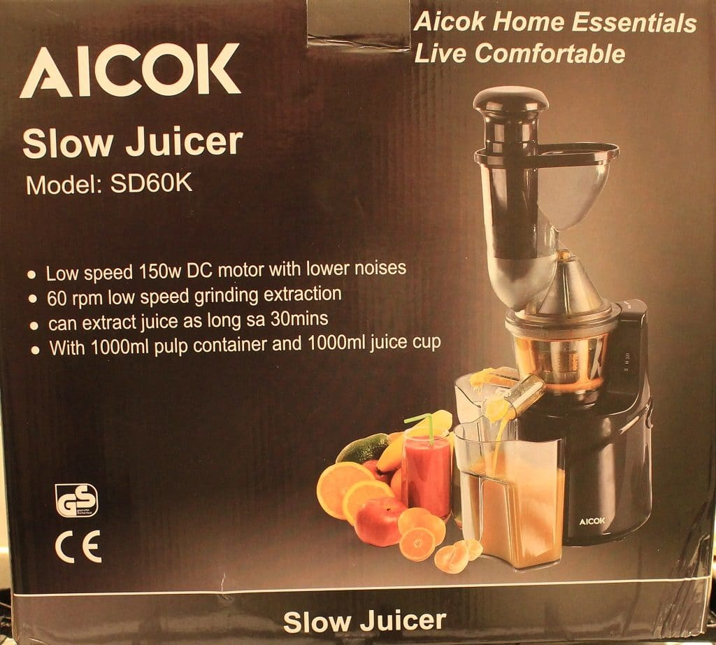 Slow Juicer Test 2018 : An Honest Review of the Aicok Juicer 75mm