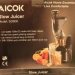 A Quick Review of the Aicok 75mm Slow Juicer