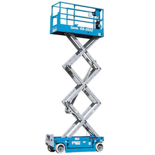 Cherry picker scissor lift