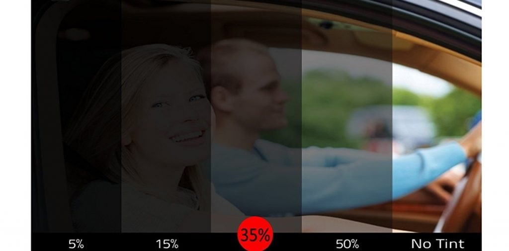 Car window tint comparison