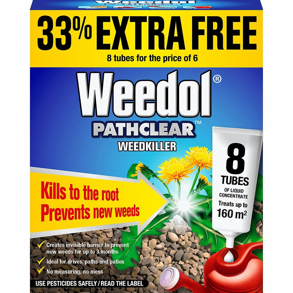 Best weedkiller for driveways