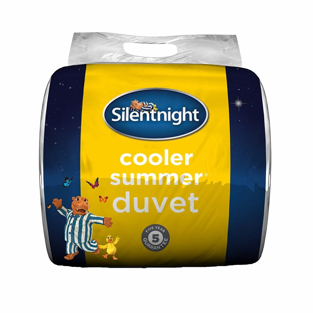 A lightweight summer duvet