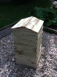 Berst compost bin for smaller gardens