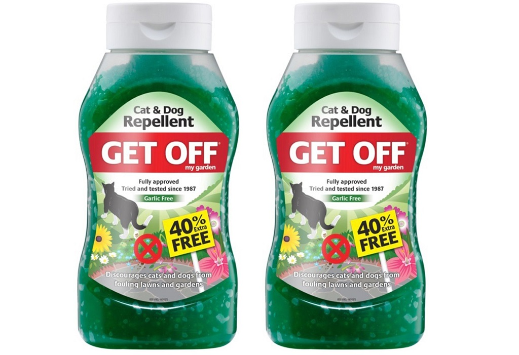 2 bottles of cat repellent gels