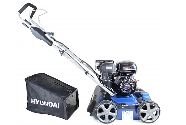 Hyundai petrol scarifier and cutter