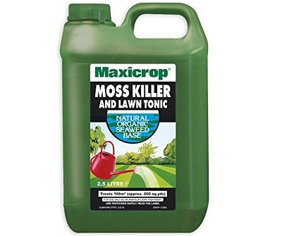 Maxicrop lawn moss killer