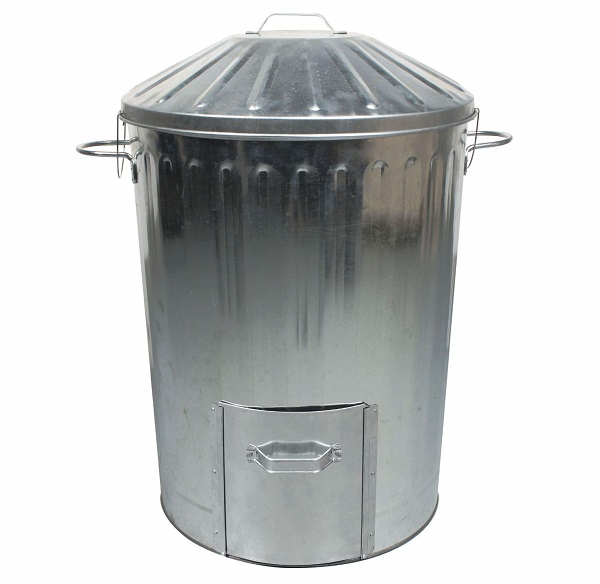 Metal composter