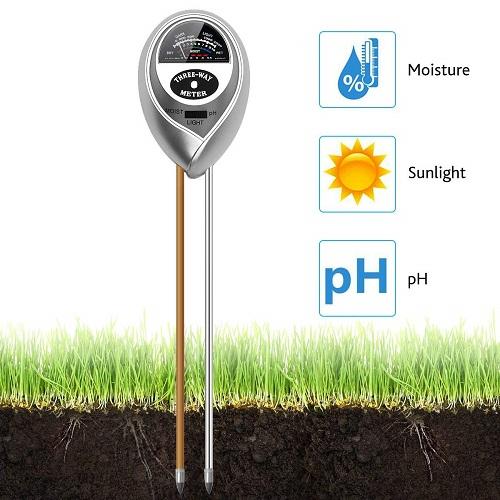 Soil testing meter